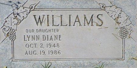 WILLIAMS, LYNN DIANE - Maricopa County, Arizona   LYNN DIANE WILLIAMS - Arizona Gravestone Photos