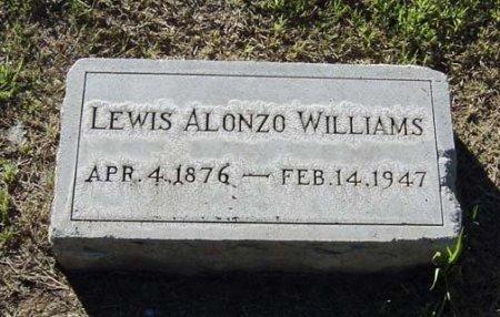 WILLIAMS, LEWIS ALONZO - Maricopa County, Arizona | LEWIS ALONZO WILLIAMS - Arizona Gravestone Photos