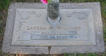 WILLIAMS, LAVERA M - Maricopa County, Arizona | LAVERA M WILLIAMS - Arizona Gravestone Photos