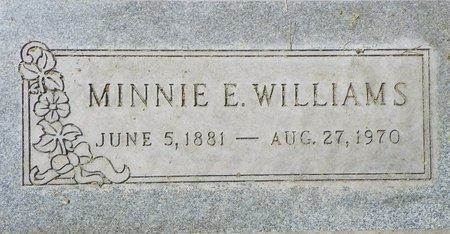WILLIAMS, MINNIE E - Maricopa County, Arizona   MINNIE E WILLIAMS - Arizona Gravestone Photos