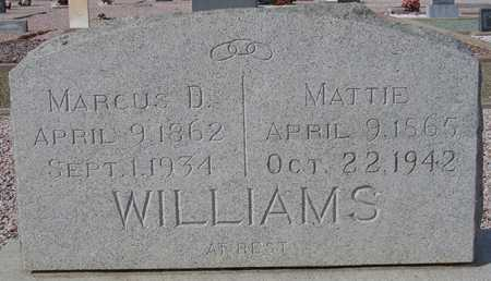 WILLIAMS, MATTIE - Maricopa County, Arizona | MATTIE WILLIAMS - Arizona Gravestone Photos