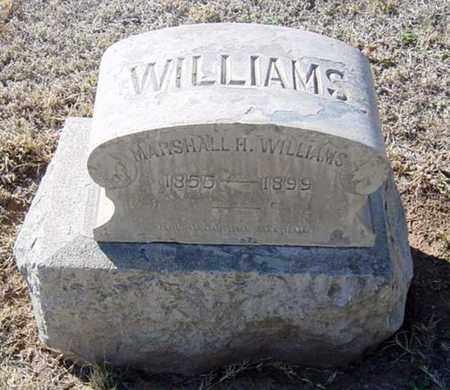 WILLIAMS, MARSHALL H. - Maricopa County, Arizona | MARSHALL H. WILLIAMS - Arizona Gravestone Photos