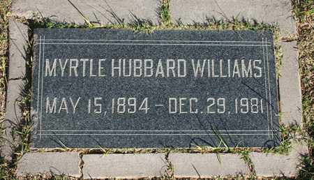 WILLIAMS, MYRTLE - Maricopa County, Arizona | MYRTLE WILLIAMS - Arizona Gravestone Photos