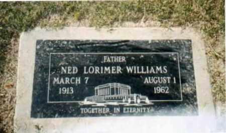 WILLIAMS, NED LORIMER - Maricopa County, Arizona   NED LORIMER WILLIAMS - Arizona Gravestone Photos