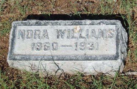 WILLIAMS, NORA - Maricopa County, Arizona | NORA WILLIAMS - Arizona Gravestone Photos