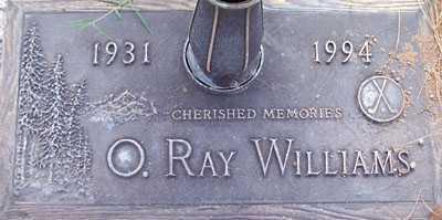 WILLIAMS, O. RAY - Maricopa County, Arizona | O. RAY WILLIAMS - Arizona Gravestone Photos