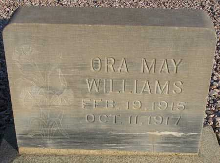 WILLIAMS, ORA MAY - Maricopa County, Arizona | ORA MAY WILLIAMS - Arizona Gravestone Photos