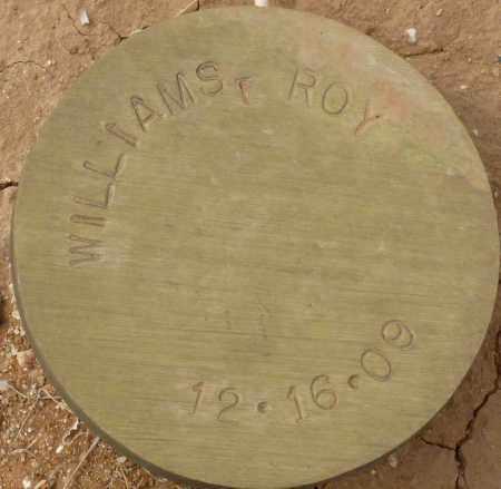 WILLIAMS, ROY - Maricopa County, Arizona   ROY WILLIAMS - Arizona Gravestone Photos