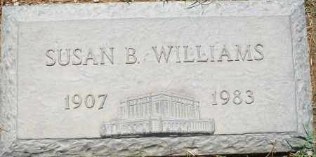 WILLIAMS, SUSAN B. - Maricopa County, Arizona | SUSAN B. WILLIAMS - Arizona Gravestone Photos