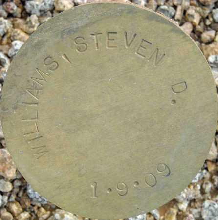 WILLIAMS, STEVEN D. - Maricopa County, Arizona | STEVEN D. WILLIAMS - Arizona Gravestone Photos