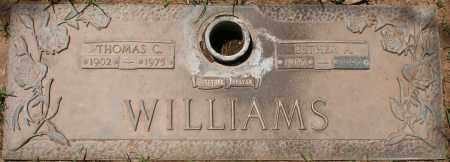 WILLIAMS, THOMAS C. - Maricopa County, Arizona | THOMAS C. WILLIAMS - Arizona Gravestone Photos