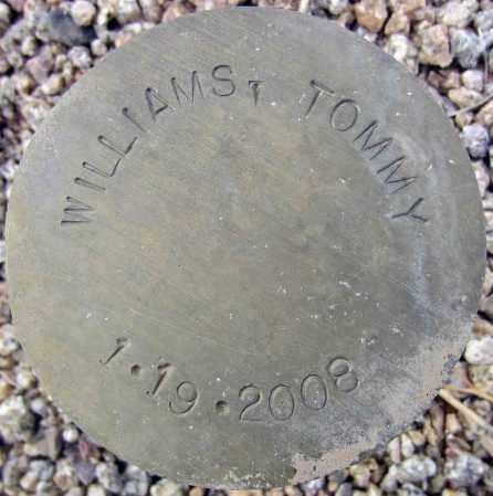 WILLIAMS, TOMMY - Maricopa County, Arizona | TOMMY WILLIAMS - Arizona Gravestone Photos