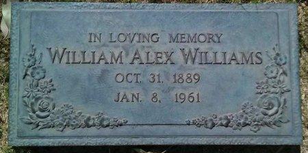 WILLIAMS, WILLIAM ALEX - Maricopa County, Arizona | WILLIAM ALEX WILLIAMS - Arizona Gravestone Photos