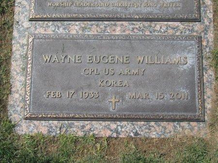 WILLIAMS, WAYNE EUGENE - Maricopa County, Arizona   WAYNE EUGENE WILLIAMS - Arizona Gravestone Photos