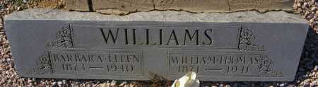 WILLIAMS, WILLIAM THOMAS - Maricopa County, Arizona | WILLIAM THOMAS WILLIAMS - Arizona Gravestone Photos