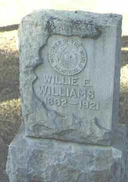 WILLIAMS, WILLIE E. - Maricopa County, Arizona | WILLIE E. WILLIAMS - Arizona Gravestone Photos