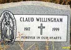 WILLINGHAM, CLAUD - Maricopa County, Arizona | CLAUD WILLINGHAM - Arizona Gravestone Photos