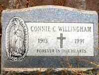WILLINGHAM, CONNIE C. - Maricopa County, Arizona | CONNIE C. WILLINGHAM - Arizona Gravestone Photos