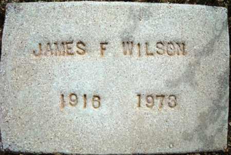 WILSON, JAMES F. - Maricopa County, Arizona   JAMES F. WILSON - Arizona Gravestone Photos