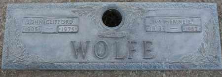 WOLFE, JOHN CLIFFORD - Maricopa County, Arizona | JOHN CLIFFORD WOLFE - Arizona Gravestone Photos