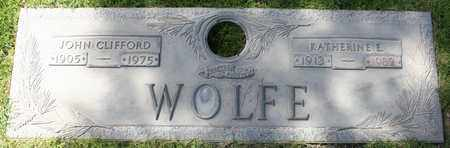 WOLFE, KATHERINE E - Maricopa County, Arizona | KATHERINE E WOLFE - Arizona Gravestone Photos