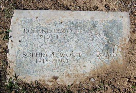 WOLFE, SOPHIA A. - Maricopa County, Arizona | SOPHIA A. WOLFE - Arizona Gravestone Photos