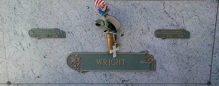 WRIGHT, ANGELO THOMAS - Maricopa County, Arizona   ANGELO THOMAS WRIGHT - Arizona Gravestone Photos