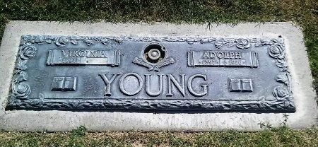 YOUNG, VIRGINIA - Maricopa County, Arizona | VIRGINIA YOUNG - Arizona Gravestone Photos