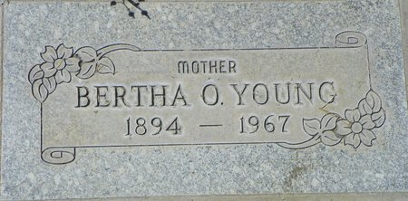 YOUNG, BERTHA O - Maricopa County, Arizona | BERTHA O YOUNG - Arizona Gravestone Photos