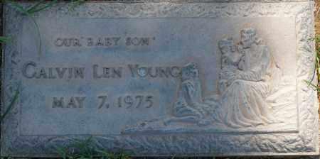 YOUNG, CALVIN LEN - Maricopa County, Arizona | CALVIN LEN YOUNG - Arizona Gravestone Photos