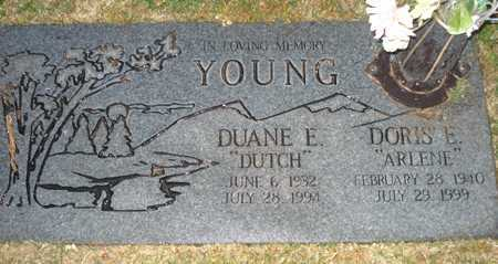 "YOUNG, DUANE E. ""DUTCH"" - Maricopa County, Arizona 