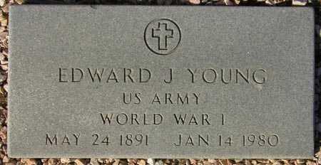 YOUNG, EDWARD J. - Maricopa County, Arizona | EDWARD J. YOUNG - Arizona Gravestone Photos
