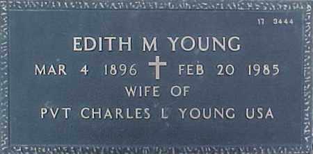 YOUNG, EDITH M. - Maricopa County, Arizona | EDITH M. YOUNG - Arizona Gravestone Photos