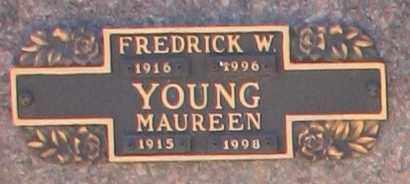 YOUNG, FREDRICK W - Maricopa County, Arizona | FREDRICK W YOUNG - Arizona Gravestone Photos