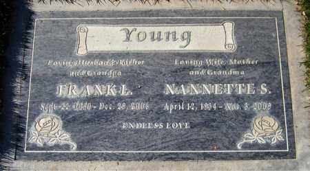 YOUNG, NANNETTE S. - Maricopa County, Arizona | NANNETTE S. YOUNG - Arizona Gravestone Photos