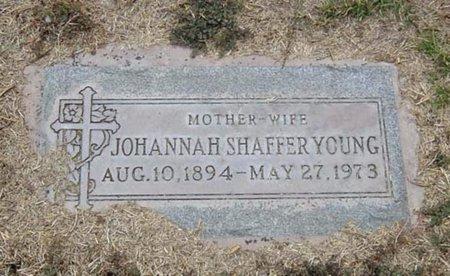 YOUNG, JOHANNAH - Maricopa County, Arizona | JOHANNAH YOUNG - Arizona Gravestone Photos