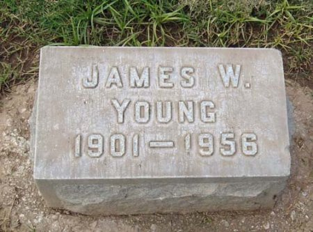 YOUNG, JAMES WATSON - Maricopa County, Arizona | JAMES WATSON YOUNG - Arizona Gravestone Photos