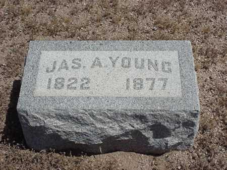 YOUNG, JAS/ JAMES A - Maricopa County, Arizona   JAS/ JAMES A YOUNG - Arizona Gravestone Photos