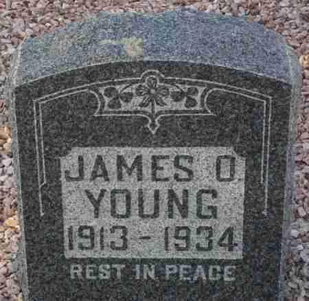 YOUNG, JAMES O. - Maricopa County, Arizona | JAMES O. YOUNG - Arizona Gravestone Photos