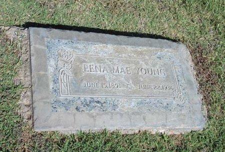 YOUNG, LENA MAE - Maricopa County, Arizona | LENA MAE YOUNG - Arizona Gravestone Photos