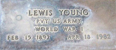 YOUNG, LEWIS - Maricopa County, Arizona   LEWIS YOUNG - Arizona Gravestone Photos