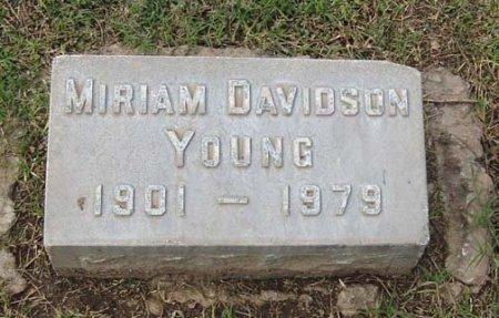 DAVIDSON YOUNG, MIRIAM - Maricopa County, Arizona | MIRIAM DAVIDSON YOUNG - Arizona Gravestone Photos