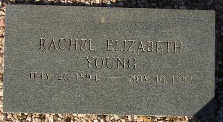 YOUNG, RACHEL ELIZABETH - Maricopa County, Arizona | RACHEL ELIZABETH YOUNG - Arizona Gravestone Photos