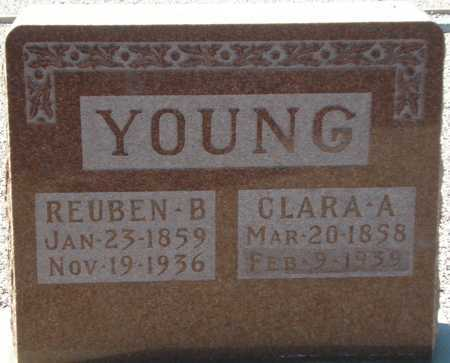 YOUNG, REUBEN B. - Maricopa County, Arizona | REUBEN B. YOUNG - Arizona Gravestone Photos