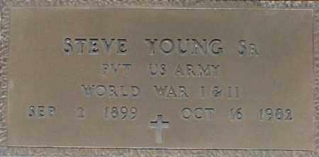 YOUNG, STEVE - Maricopa County, Arizona | STEVE YOUNG - Arizona Gravestone Photos