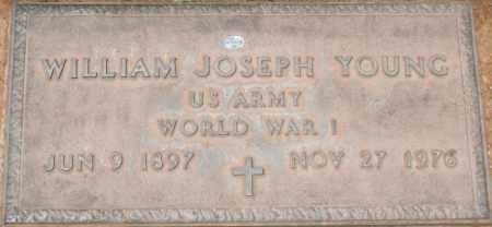 YOUNG, WILLIAM JOSEPH - Maricopa County, Arizona   WILLIAM JOSEPH YOUNG - Arizona Gravestone Photos