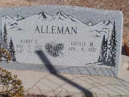 ALLEMAN, HARRY C - Mohave County, Arizona   HARRY C ALLEMAN - Arizona Gravestone Photos