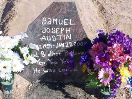 AUSTIN, SAMUEL JOSEPH - Mohave County, Arizona | SAMUEL JOSEPH AUSTIN - Arizona Gravestone Photos