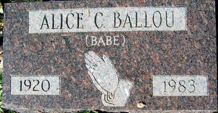 BALLOU, ALICE C - Mohave County, Arizona   ALICE C BALLOU - Arizona Gravestone Photos