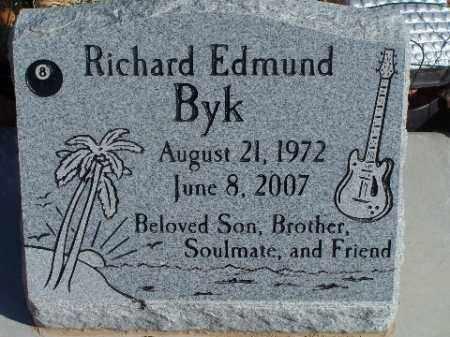 BYK, RICHARD EDMUND - Mohave County, Arizona | RICHARD EDMUND BYK - Arizona Gravestone Photos